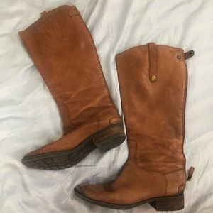 Sam Edelman tall riding boots, size 10